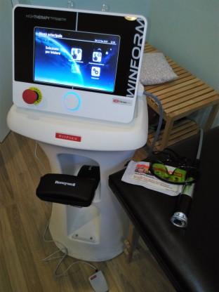 fisiokinesiterapia - Laser YAG